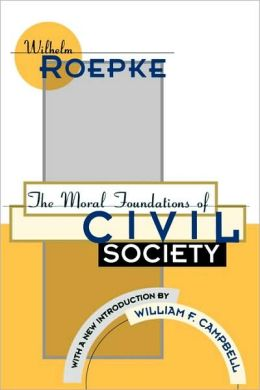 Moral Fndns Of Civil Society (P)