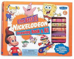 Best of Nickelodeon Drawing Book & Kit