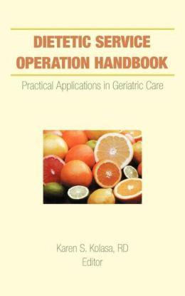 Dietetic Service Operation Handbook