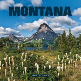 2014 Montana Wall Calendar