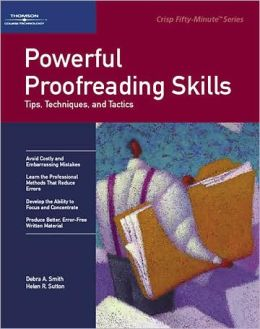 Crisp: Powerful Proofreading Skills: Tips, Techniques, and Tactics