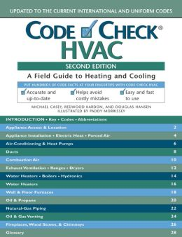 Code Check HVAC: A Field Guide to Heating and Cooling