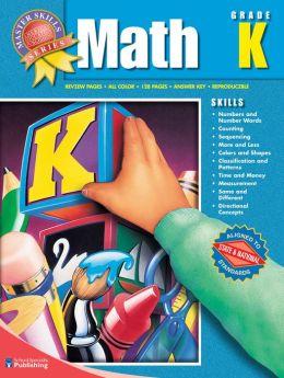 Master Skills Math Grade K