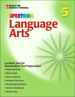 Spectrum Language Arts, Grade 5