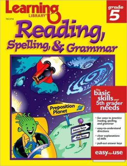 Learning Library-Reading, Spelling and Grammar
