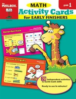 Activity Cards for Early Finishers: Math