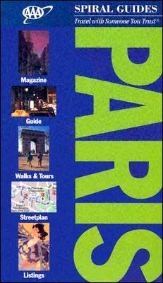 AAA Spiral Guide Paris