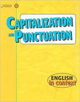 Capitalization and Punctuation-English in Context