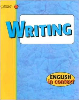 Writing- English in Context