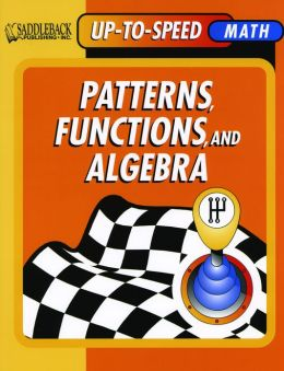 Patterns, Functions, and Algebra- Up-to-Speed Math
