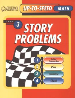 Story Problems 3, Level 7-8- Up-to-Speed Math Story Problems