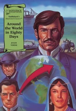 Around the World in Eighty Days-Illustrated Classics-Book