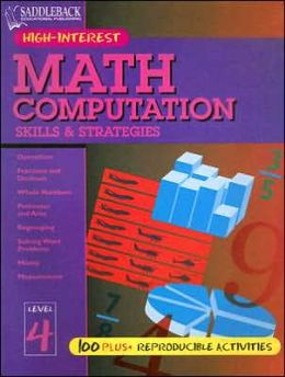 Math Computation Skills and Strategies: Level 4