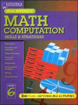 Math Computation Skills and Strategies: Level 6