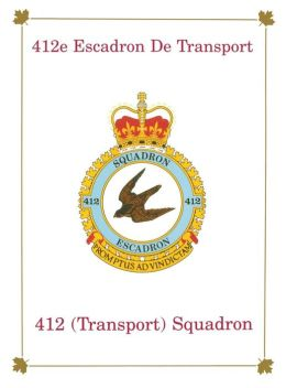 412e Escadron de Transport: 412 (Transport) Squadron