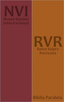 Spanish RV / NVI Parallel Bible - DuoTone Tan/Burgundy: Reina Valera / Nueva Version Internacional