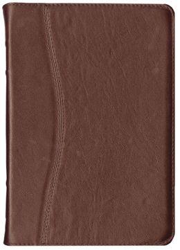 NVI Spanish Slimline Bible - Burgundy Genuine Leather