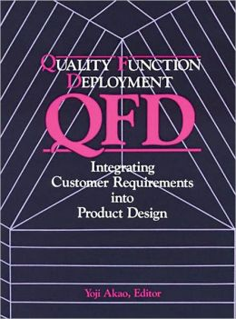 QUALITY FUNCTION DEPLOYMENT: Integrating Customer Requirements Into Product Design
