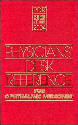 PDR for Ophthalmic Medicines, 2004