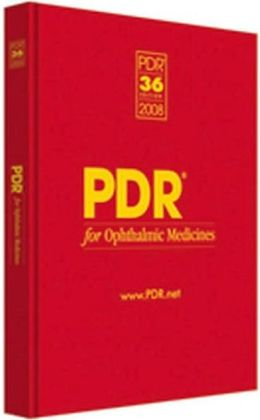 PDR for Ophthalmic Medicines 2008
