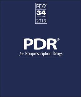 PDR for Nonprescription Drugs 2013