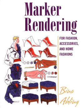 Marker Rendering for Fashion, Accessories, and Interior Design