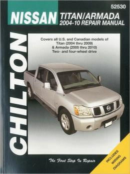 Nissan Titan and Armada 2004 thru 2010