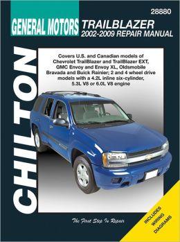 Chilton General Motors Trailblazer 2002-2009 Repair Manual