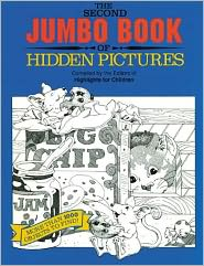 The Second Jumbo Book of Hidden Pictures: More than 1000 Objects to Find!