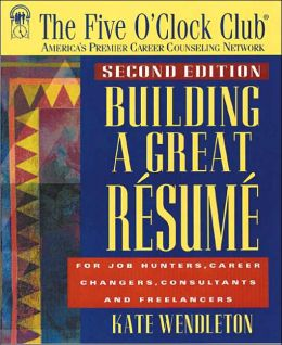 Building a Great Resume