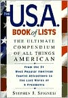 The U. S. A. Book of Lists: The Ultimate Compendium of All Things American