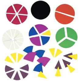 Deluxe Fraction Circles : Math Grades 2 and up, Ages 4 and up