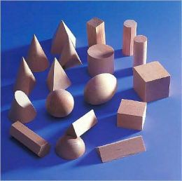 Geometric Wooden Forms : Basic Set