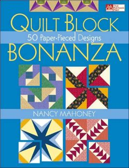 Quilt Block Bonanza: 50 Paper-Pieced Designs
