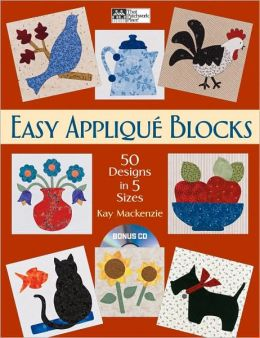 Easy Applique Blocks: 50 Designs in 5 Sizes
