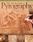 Book Cover Image. Title: The Art & Craft of Pyrography:  Drawing with Fire on Leather, Gourds, Cloth, Paper, and Wood, Author: Lora S Irish