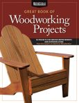 Book Cover Image. Title: Great Book of Woodworking Projects:  50 Projects For Indoor Improvements And Outdoor Living from the experts at American Woodworker, Author: Randy Johnson