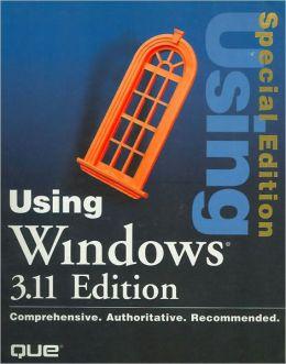 Using Windows 3.11 Edition