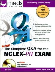 The Complete Q&A for the NCLEX-PN Exam with CD-Rom