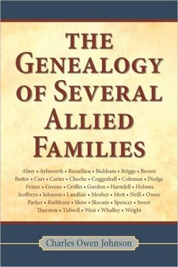 Genealogy of Several Allied Families