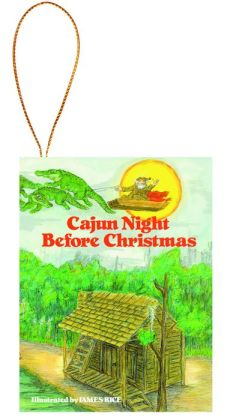 Cajun Night Before Christmas Ornament