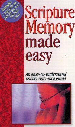 Scripture Memory Made Easy