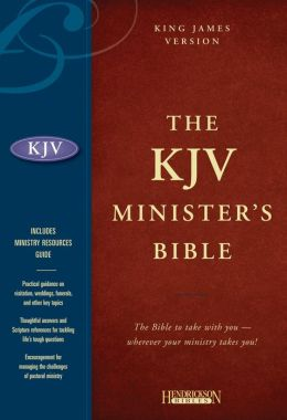 KJV Minister's Bible: King James Version, Burgundy Genuine Leather