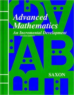 Saxon Advanced Math, 2nd Edition Solutions Manual