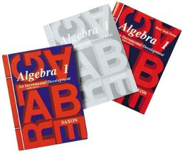Saxon Algebra 1, 3rd Edition Homeschool Kit