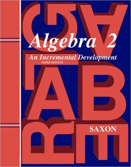 Saxon Algebra 2, 3rd Edition Solutions Manual