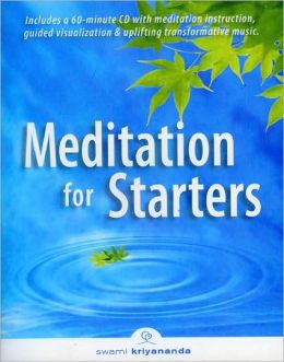 MEDITATION FOR STARTERS,BOOK & CD SET