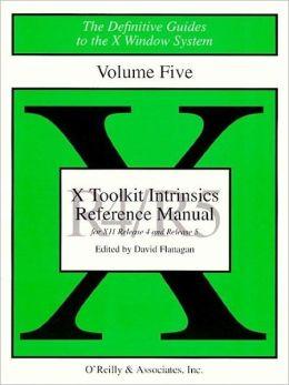 X Toolkit Intrinsics