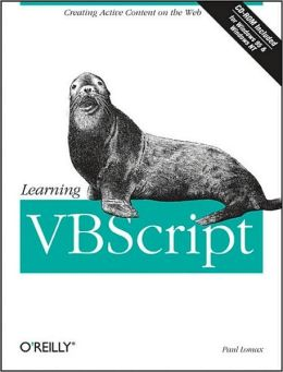Learning VBScript with CDROM