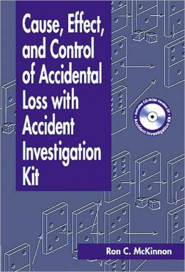 Cause, Effect and Control of Accidental Loss with Accident Investigation Kit